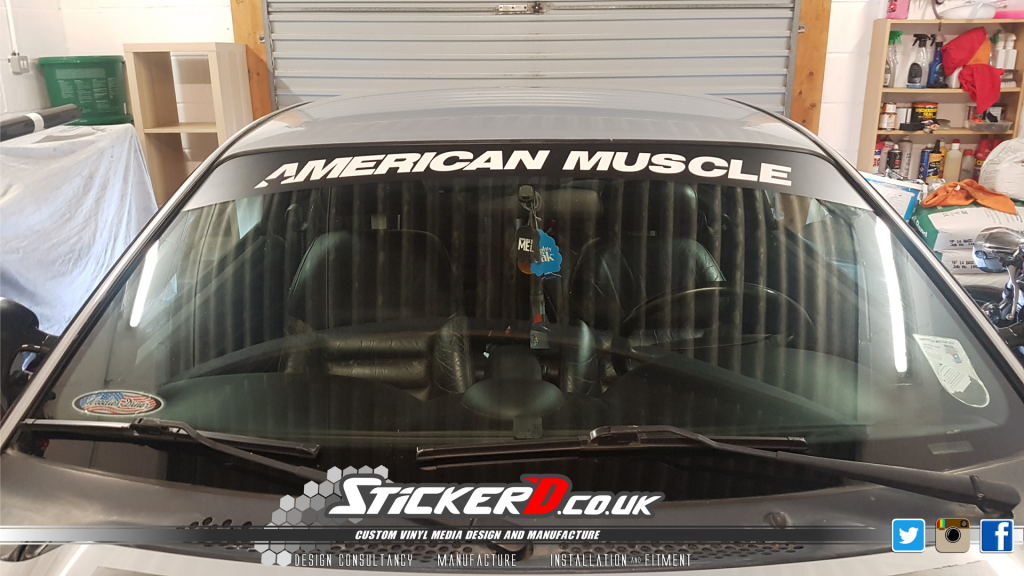 Ford Mustange American Muscle Sunstrip