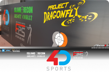 4D Sports Sign FPS Action Air ISPC and Island Recon Combat ISPC