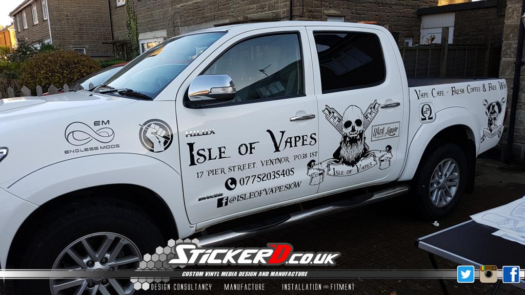 Isle of Vapes Toyota Hilux