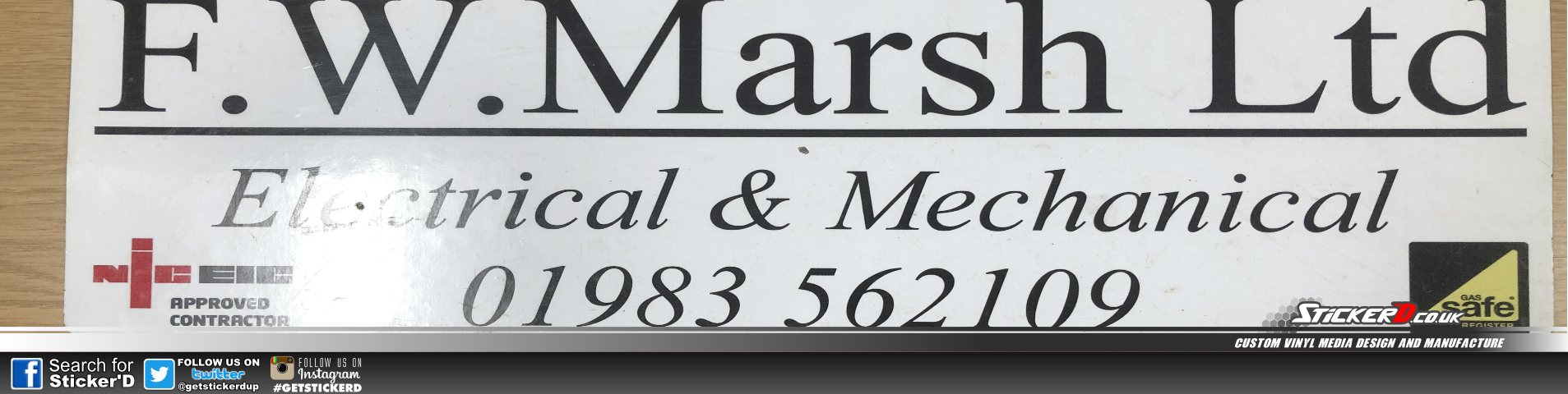 Fw Marsh Limited Magnetics Signs