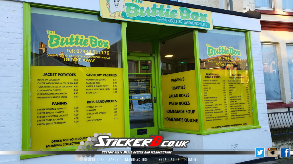 The Buttie Box Sandown External